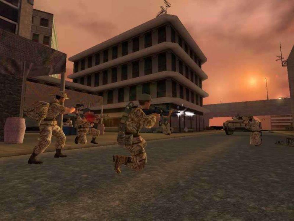 Screenshot ze hry Conflict: Desert Storm - Recenze-her.cz