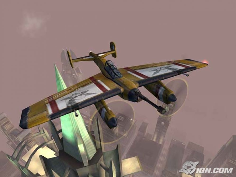 Screenshot ze hry Crimson Skies: High Road to Revenge - Recenze-her.cz