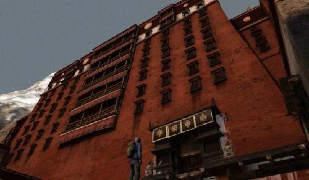 Screenshot ze hry Cursed Mountain - Recenze-her.cz