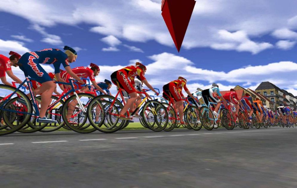 Screenshot ze hry Cycling Manager 2 - Recenze-her.cz