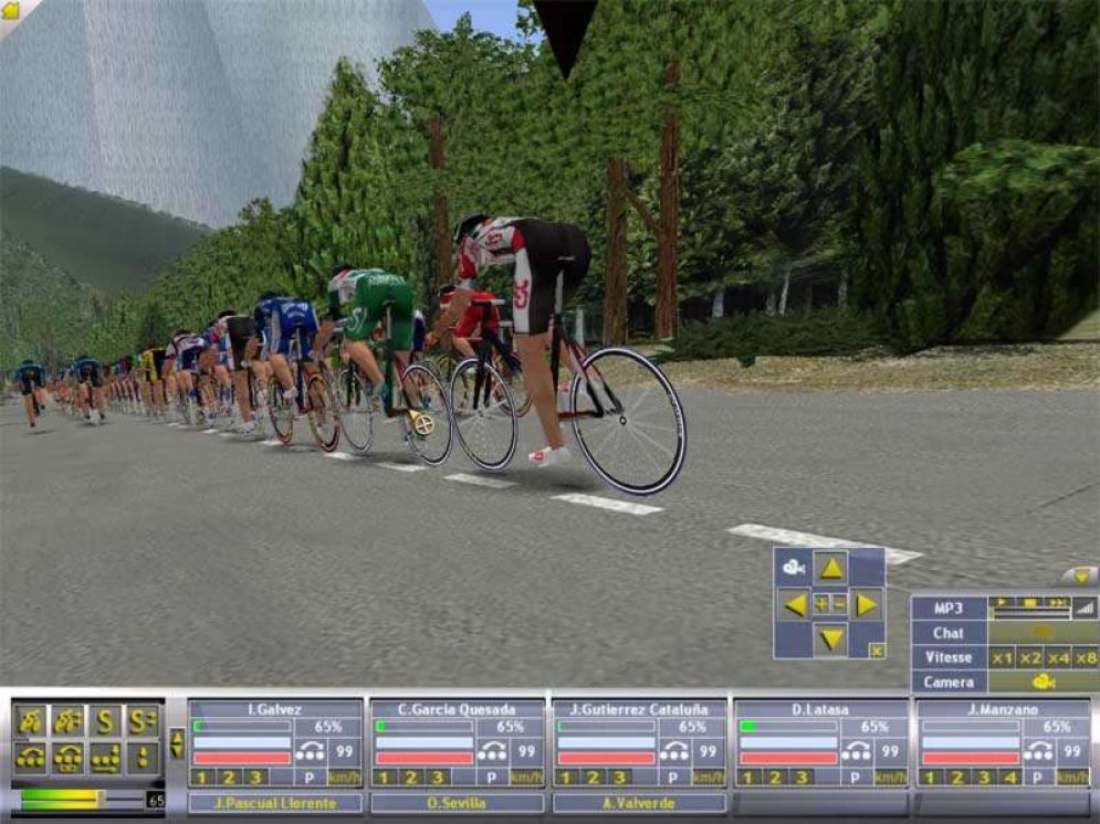 Screenshot ze hry Cycling Manager 3 - Recenze-her.cz