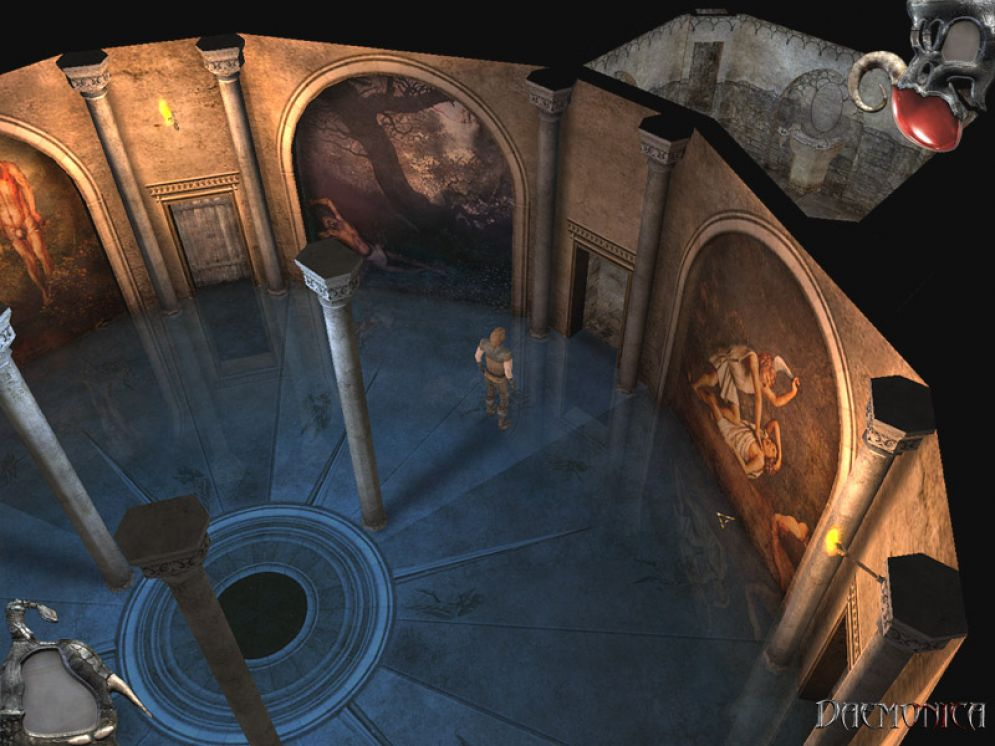 Screenshot ze hry Daemonica - Recenze-her.cz