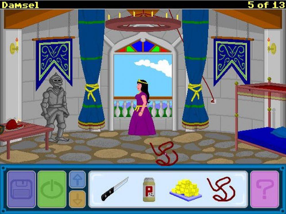 Screenshot ze hry Damsel - Recenze-her.cz