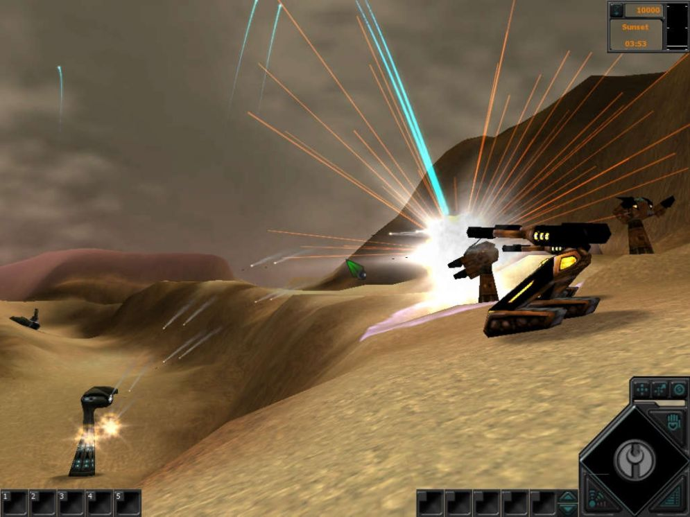 Screenshot ze hry Dark Reign 2 - Recenze-her.cz