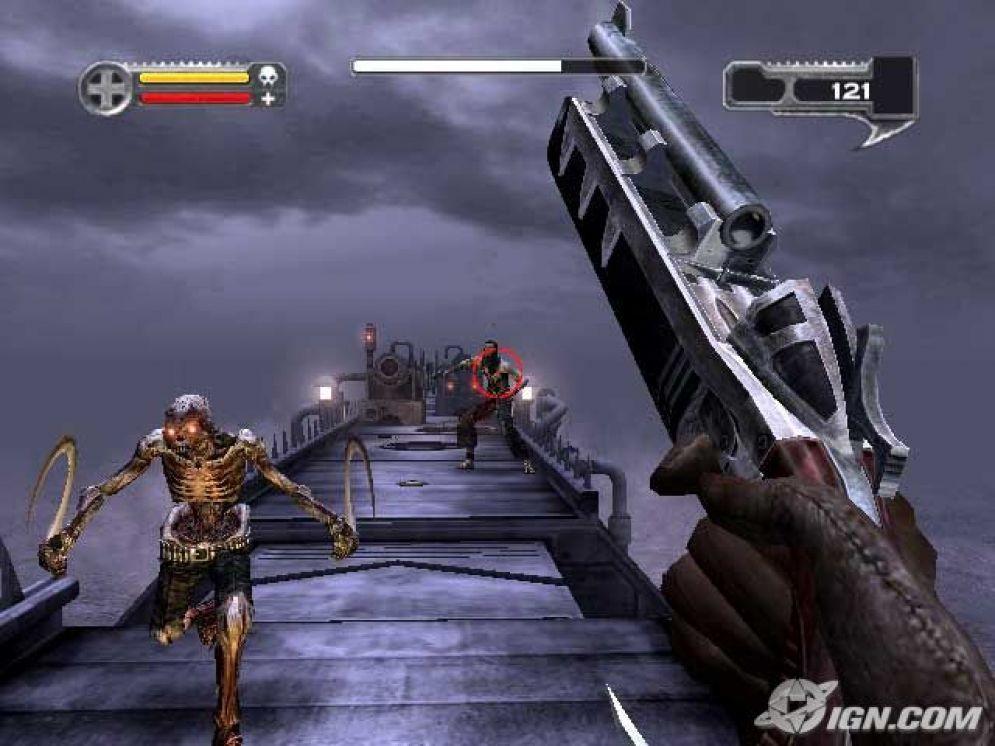 Screenshot ze hry Darkwatch - Recenze-her.cz