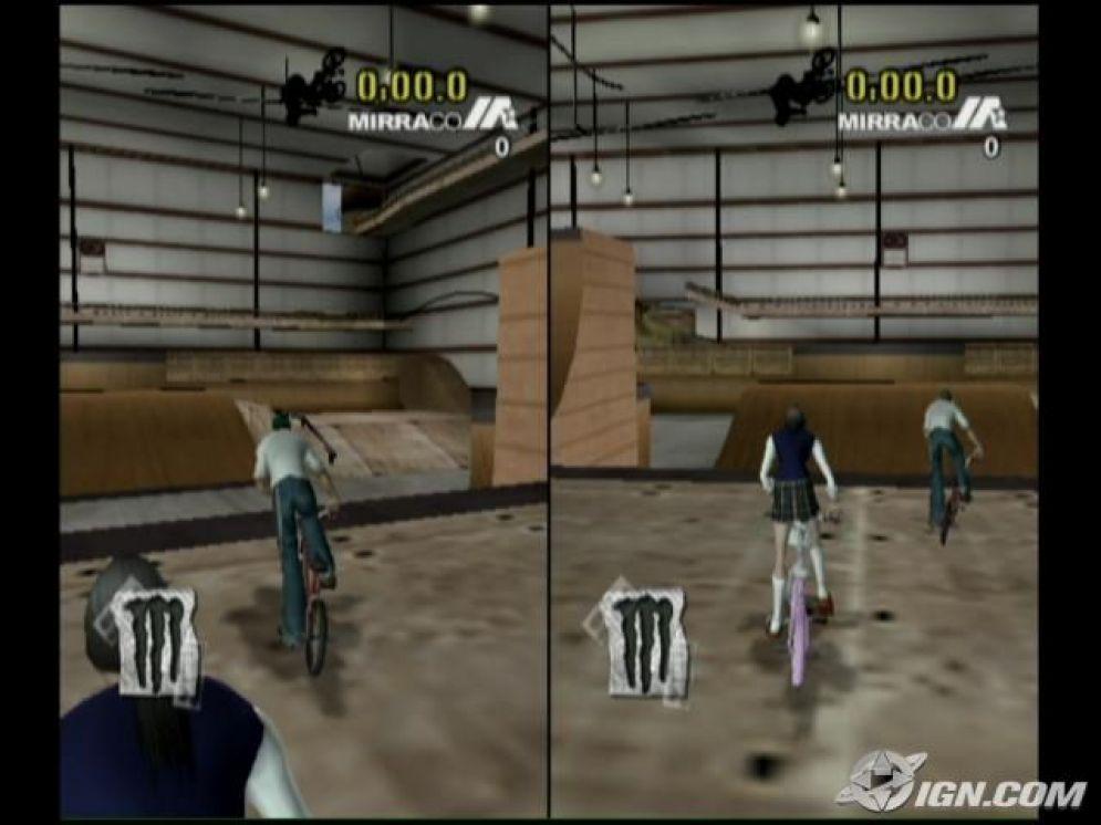 Screenshot ze hry Dave Mirra BMX Challenge - Recenze-her.cz