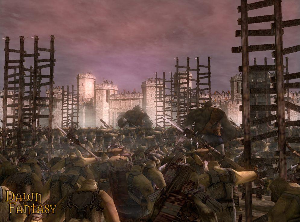 Screenshot ze hry Dawn of Fantasy - Recenze-her.cz