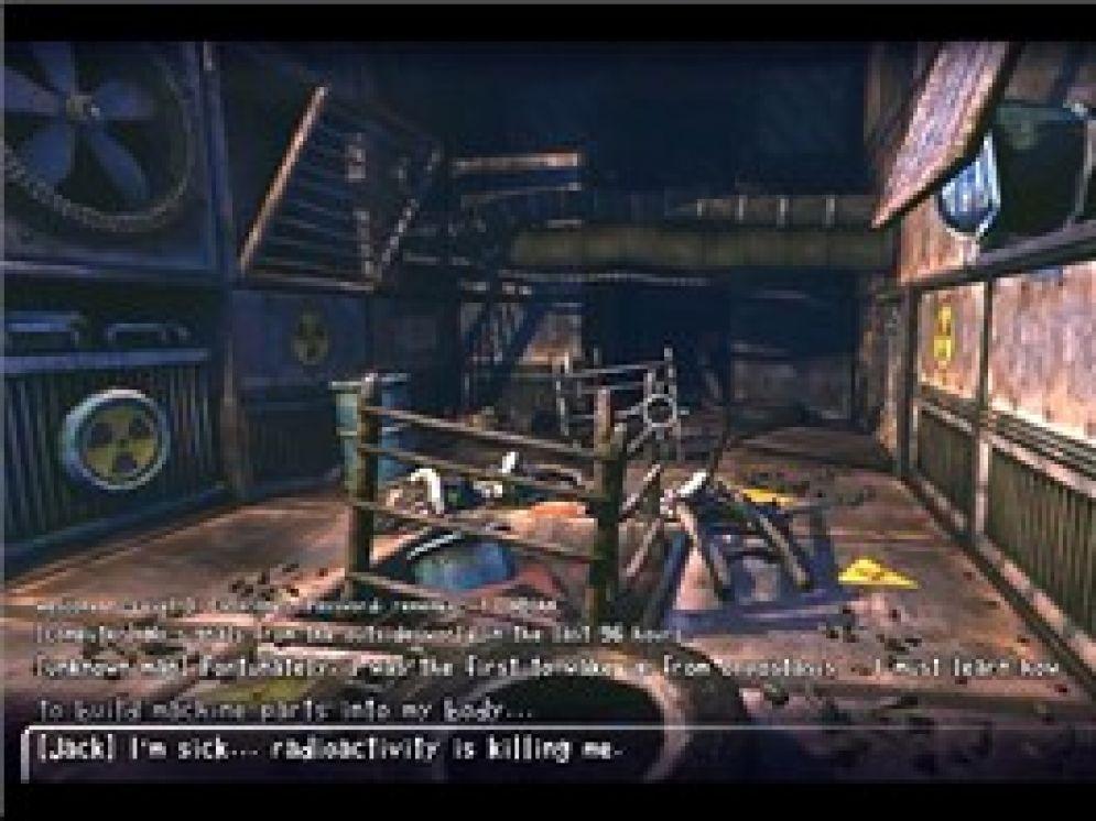 Screenshot ze hry Dead Cyborg Episode 1 - Recenze-her.cz