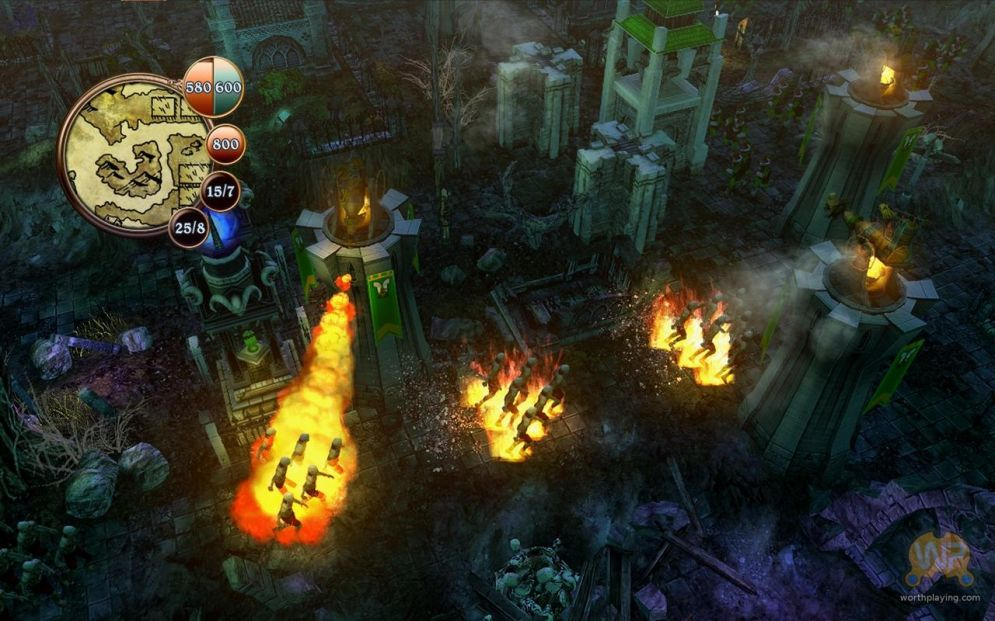 Screenshot ze hry Defenders of Ardania - Recenze-her.cz