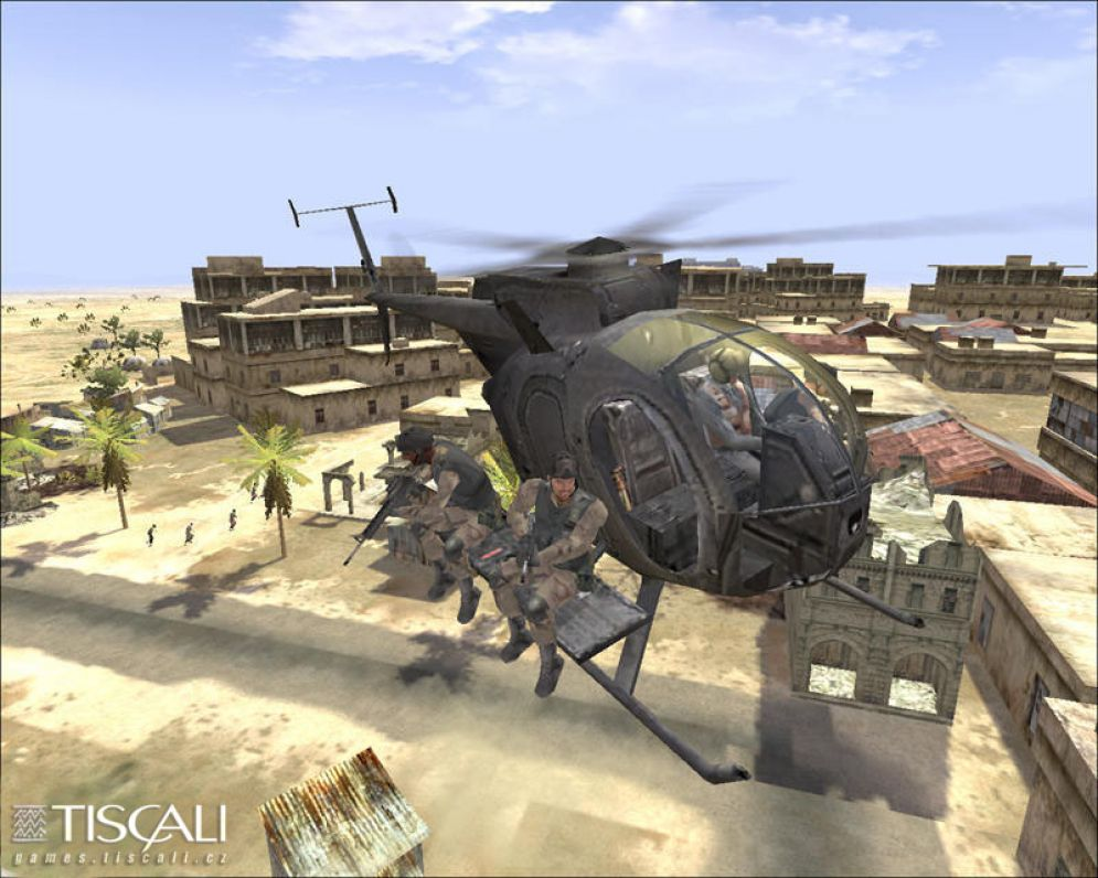 Screenshot ze hry Delta Force: Black Hawk Down - Recenze-her.cz