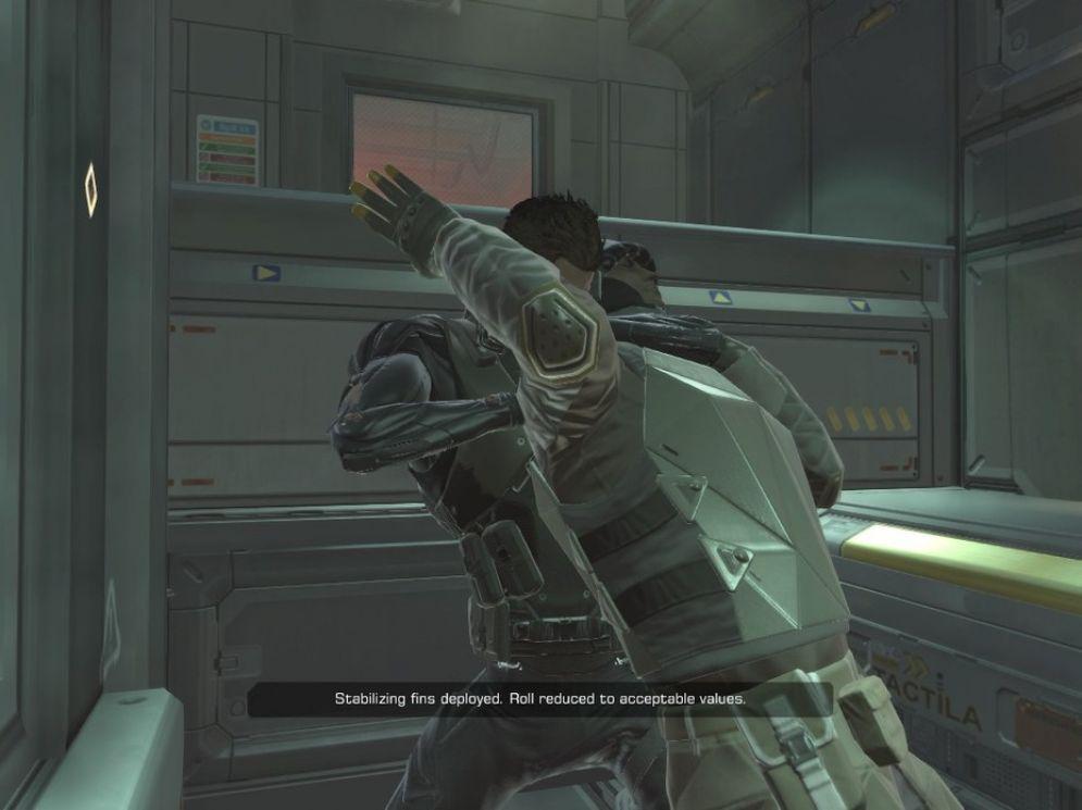 Screenshot ze hry Deus Ex: Human Revolution - Missing Link - Recenze-her.cz