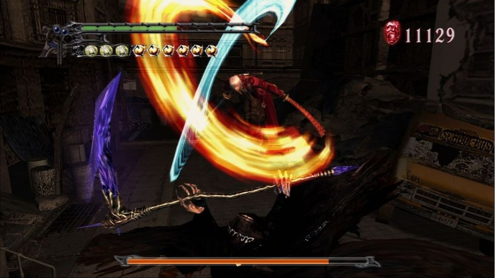 Screenshot ze hry Devil May Cry: HD Collection - Recenze-her.cz