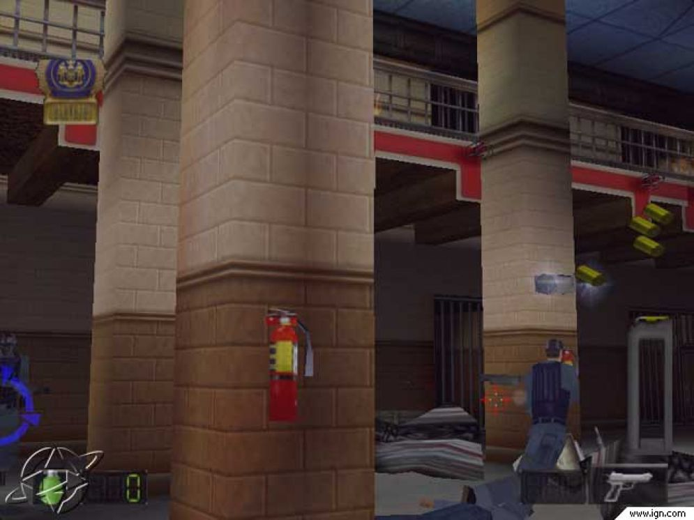 Screenshot ze hry Die Hard Trilogy 2: Viva Las Vegas - Recenze-her.cz