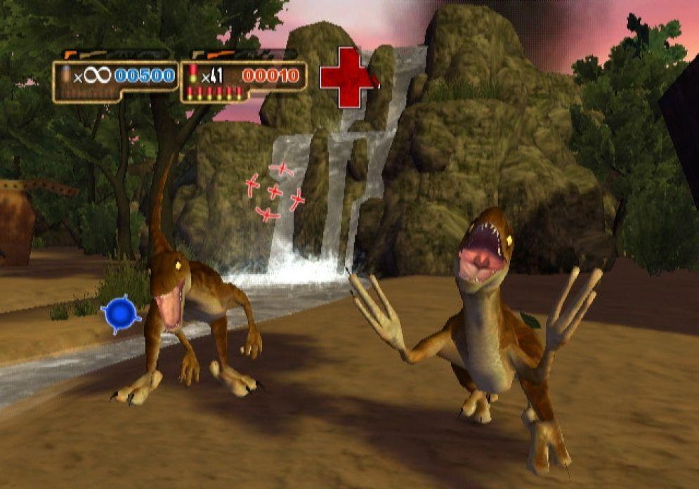 Screenshot ze hry Dino Strike - Recenze-her.cz