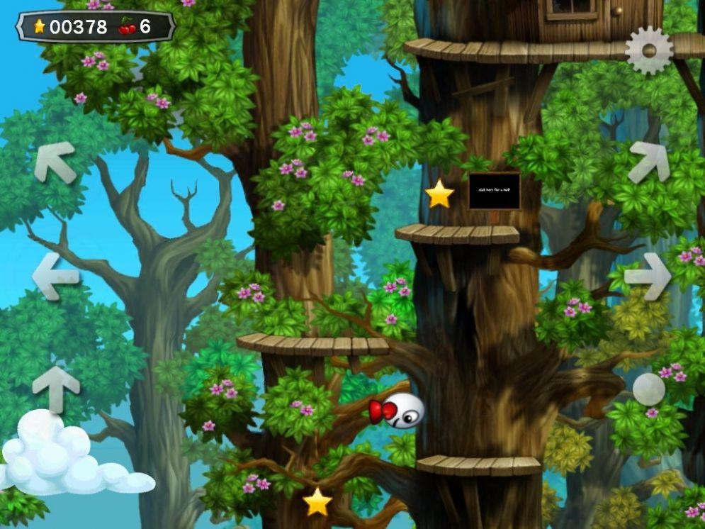 Screenshot ze hry Dizzy: Prince of the Yolkfolk HD - Recenze-her.cz