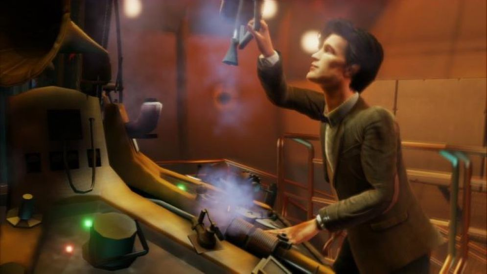 Screenshot ze hry Doctor Who: The Eternity Clock - Recenze-her.cz