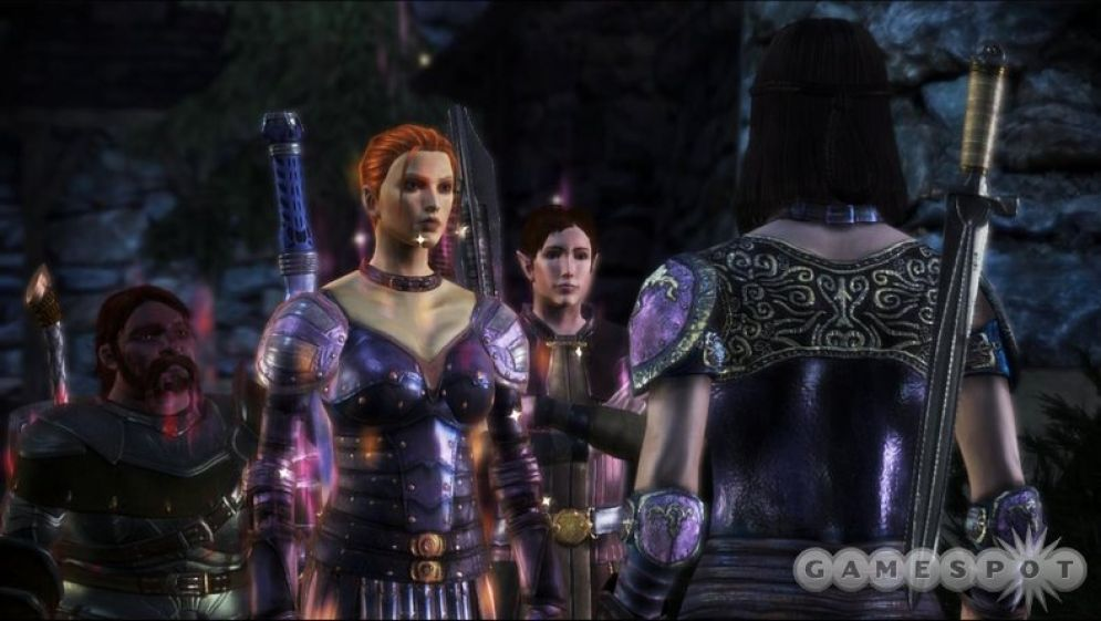 Screenshot ze hry Dragon Age: Origins - Lelianas Song - Recenze-her.cz