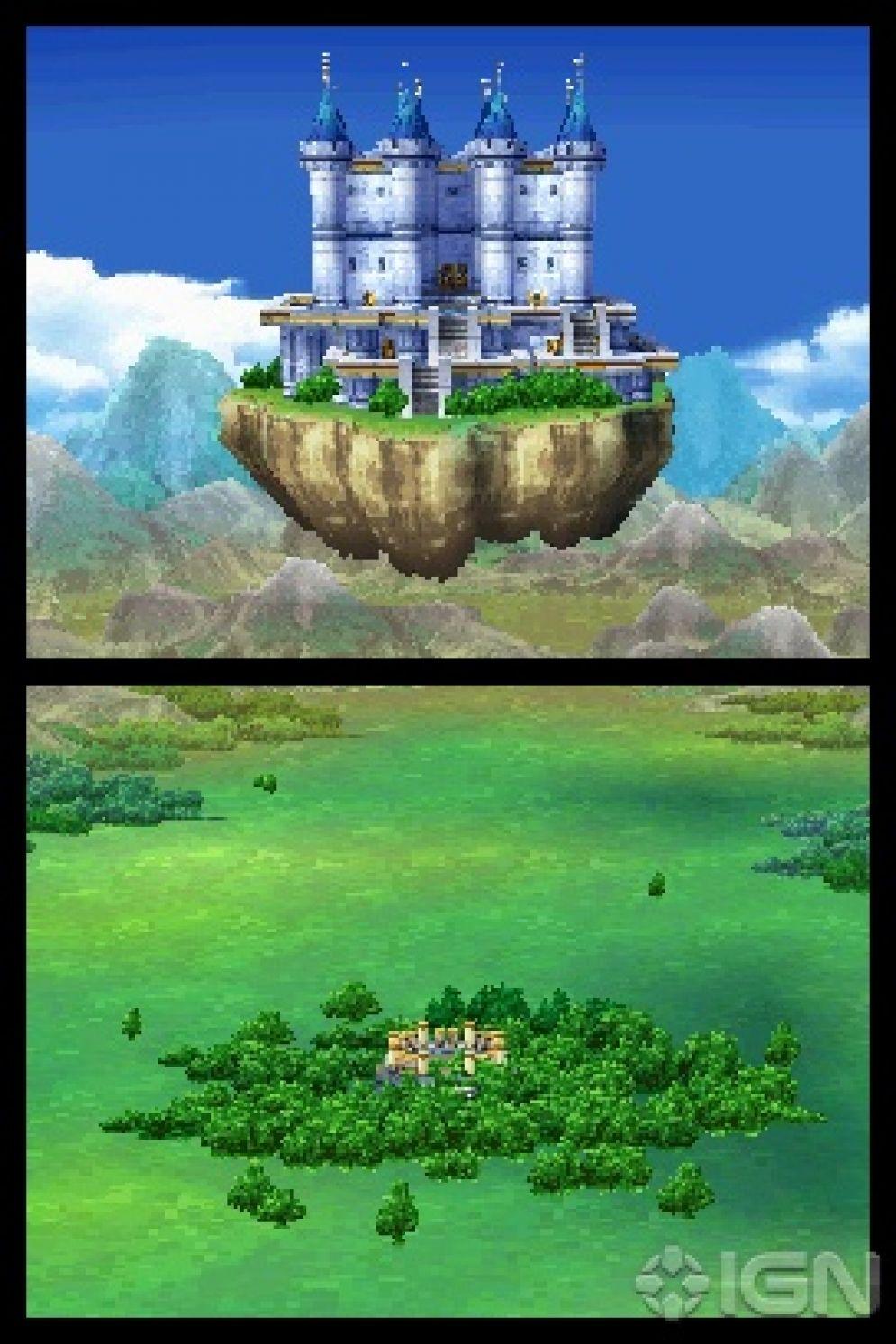 Screenshot ze hry Dragon Quest VI: Realms of Reverie - Recenze-her.cz