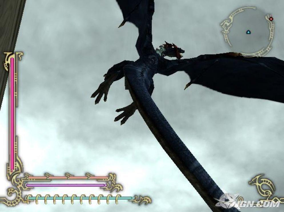 Screenshot ze hry Drakengard 2 - Recenze-her.cz