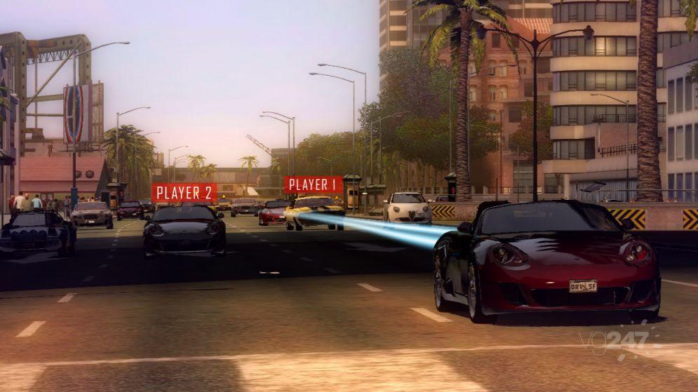 Screenshot ze hry Driver: San Francisco - Recenze-her.cz