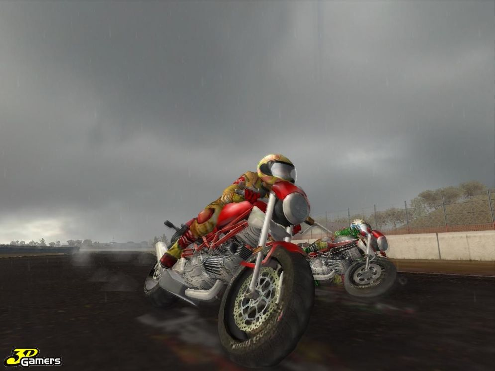 Screenshot ze hry Ducati World Championship - Recenze-her.cz