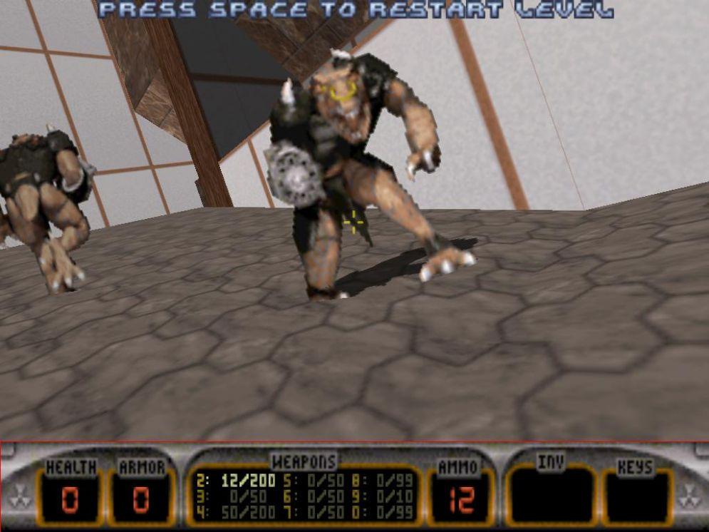 Screenshot ze hry Duke Nukem 3D - Recenze-her.cz