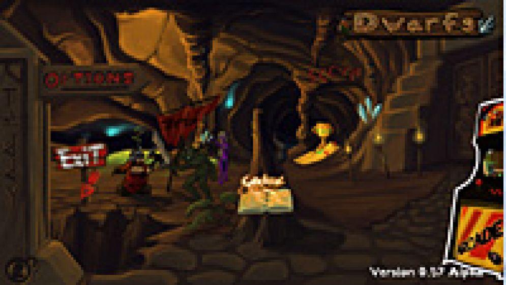 Screenshot ze hry Dwarfs - Recenze-her.cz