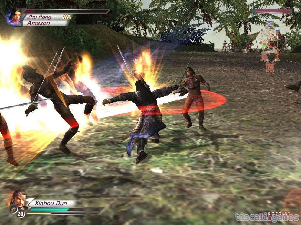 Screenshot ze hry Dynasty Warriors 4: Hyper - Recenze-her.cz