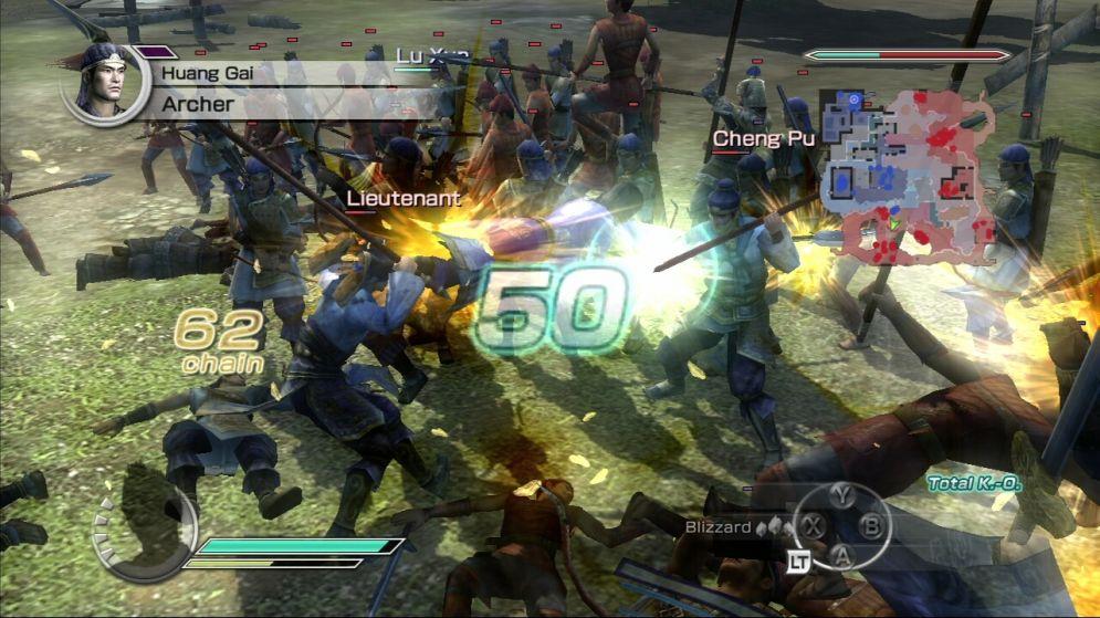 Screenshot ze hry Dynasty Warriors 6: Empires - Recenze-her.cz