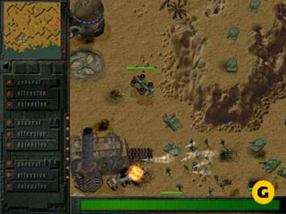 Screenshot ze hry Earth 2140 - Recenze-her.cz