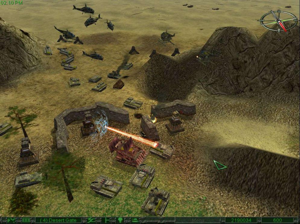 Screenshot ze hry Earth 2150 - Recenze-her.cz