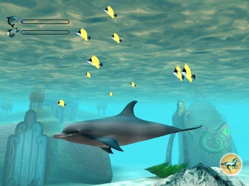 Screenshot ze hry Ecco the Dolphin - Recenze-her.cz