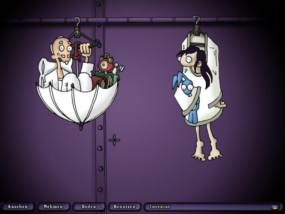 Screenshot ze hry Edna and Harvey The Breakout - Recenze-her.cz