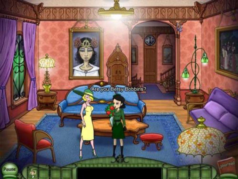 Screenshot ze hry Emerald City Confidential - Recenze-her.cz