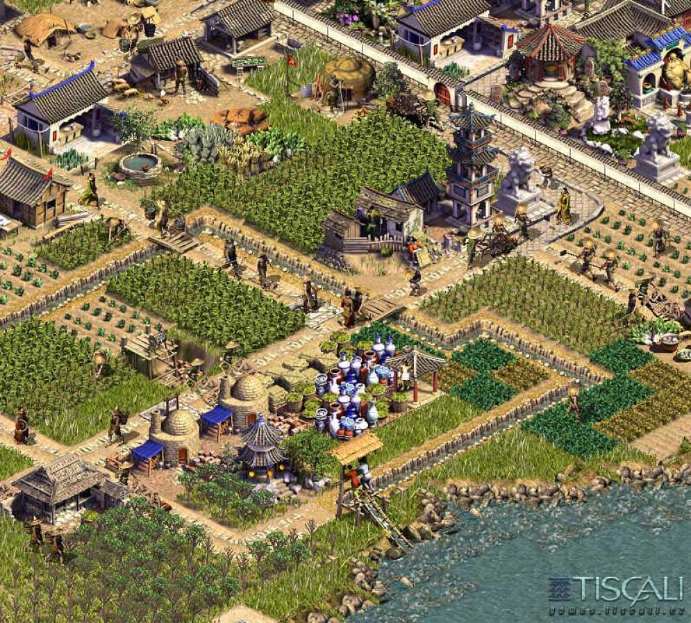 Screenshot ze hry Emperor: Rise of the Middle Kingdom - Recenze-her.cz