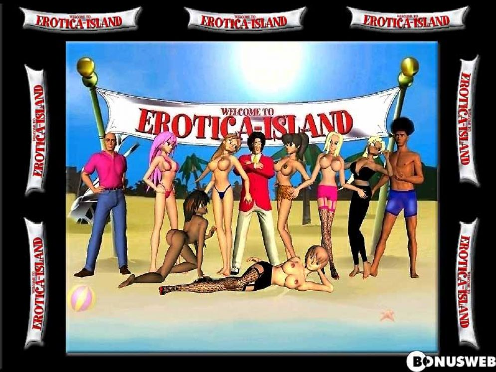 Screenshot ze hry Erotica Island - Recenze-her.cz