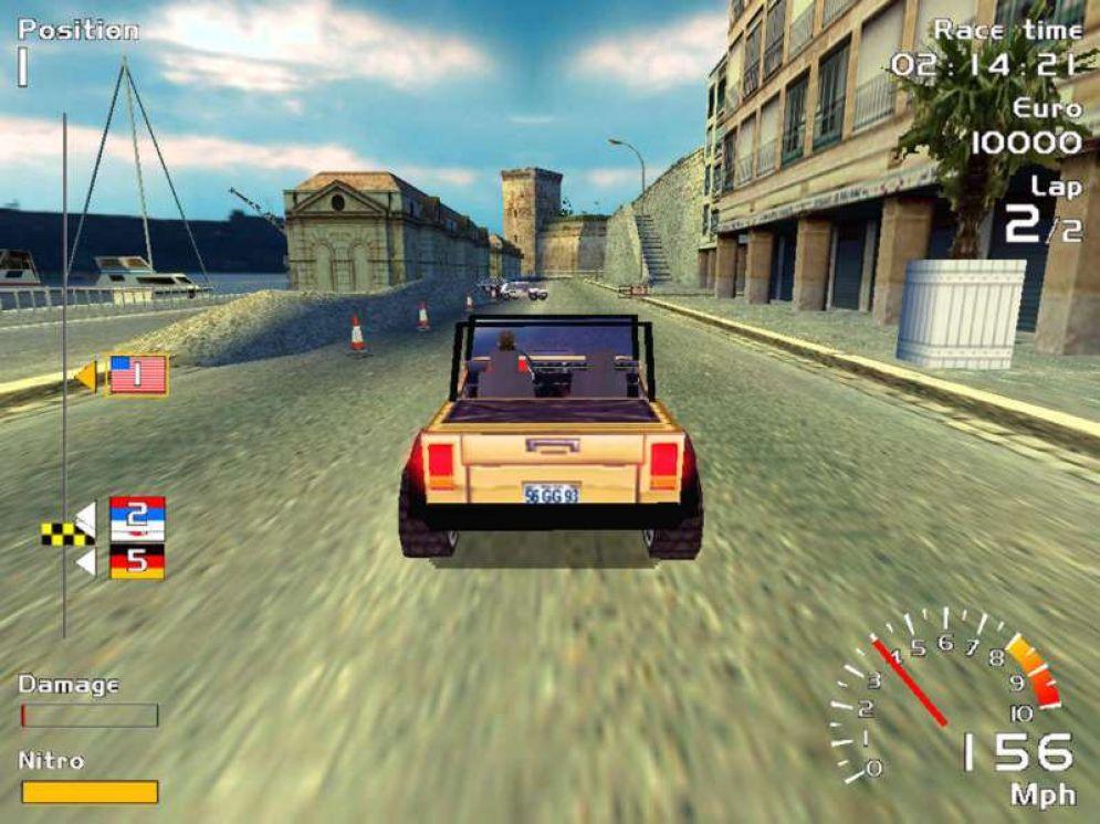 Screenshot ze hry Europe Racer - Recenze-her.cz
