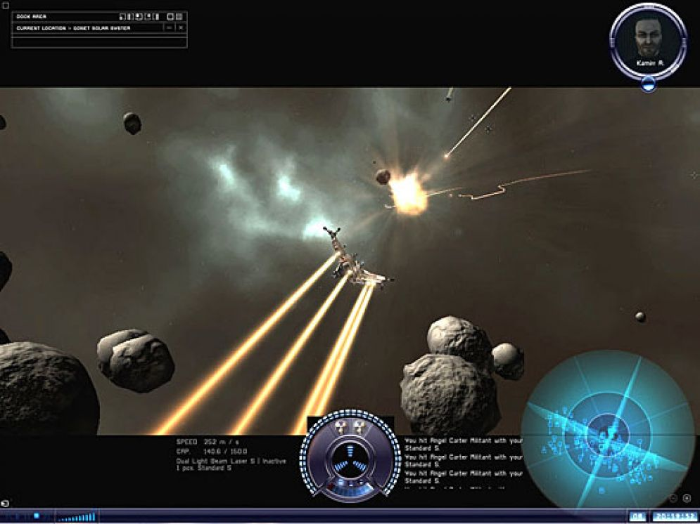 Screenshot ze hry EVE Online: The Second Genesis - Recenze-her.cz