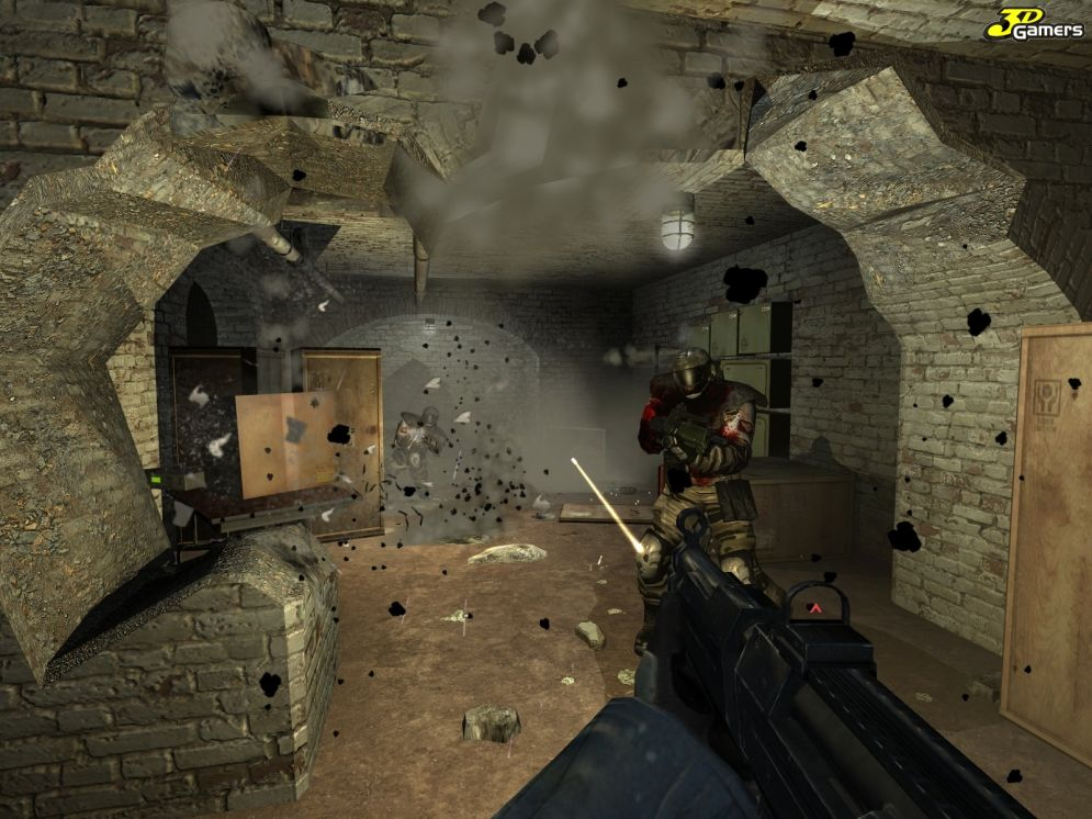 Screenshot ze hry F.E.A.R.: Extraction Point - Recenze-her.cz