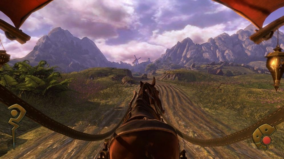 Screenshot ze hry Fable: The Journey - Recenze-her.cz
