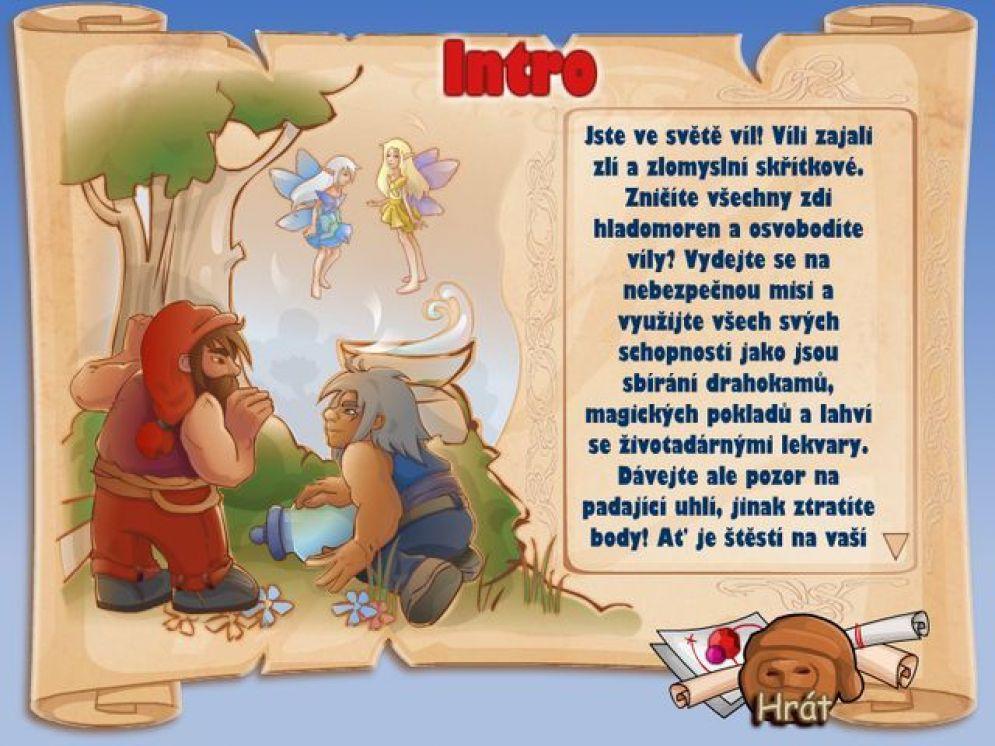 Screenshot ze hry Fairy Arkanoid - Recenze-her.cz