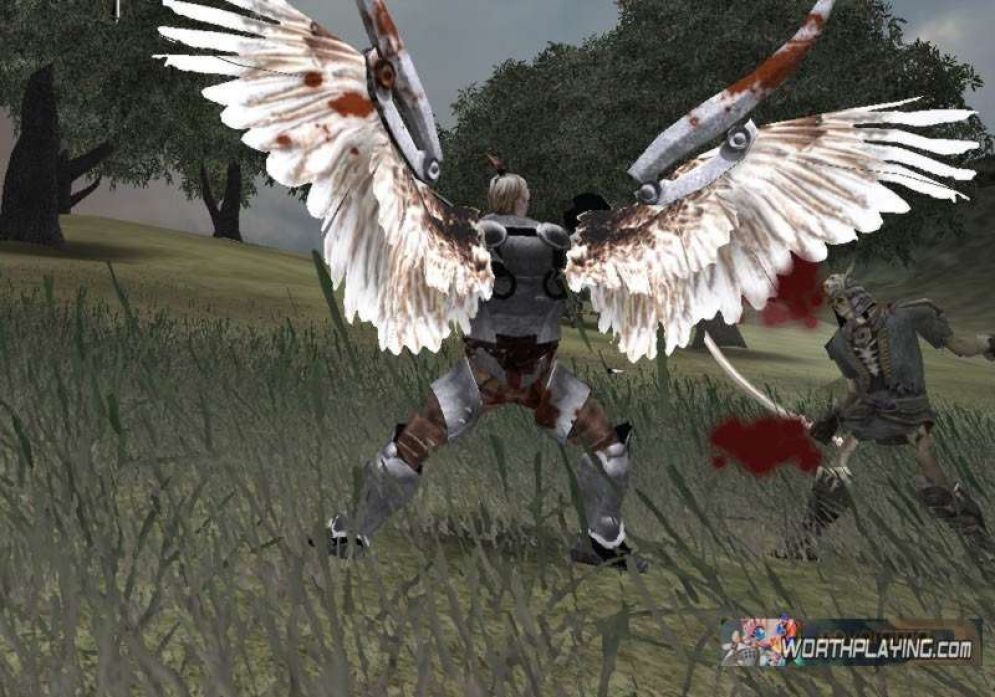 Screenshot ze hry Fallen Lords: Condemnation - Recenze-her.cz