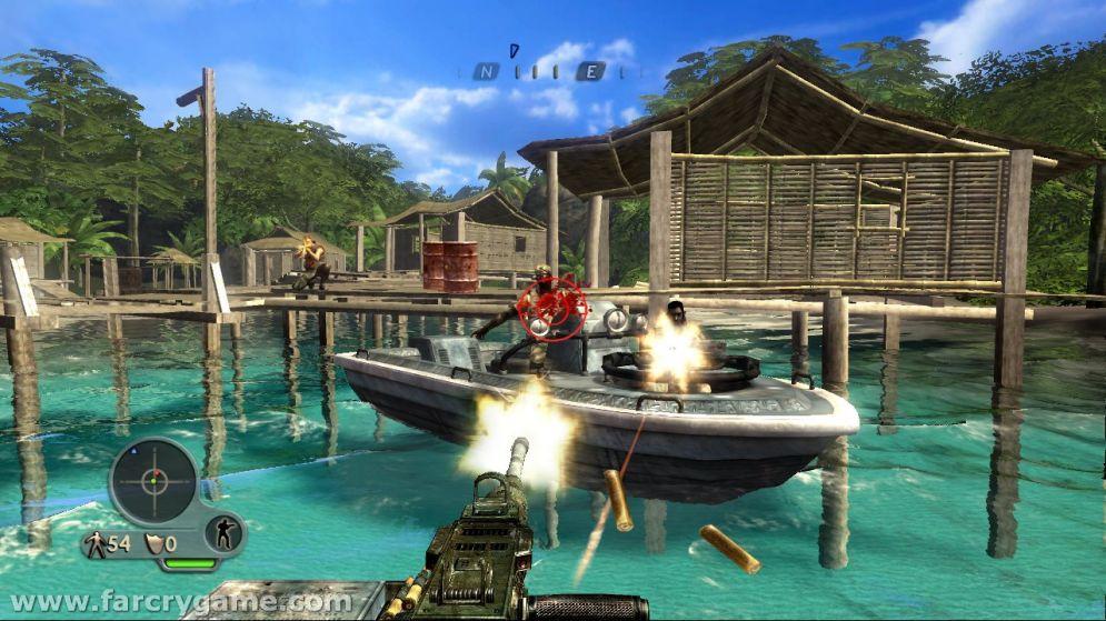 Screenshot ze hry Far Cry Instincts: Predator - Recenze-her.cz
