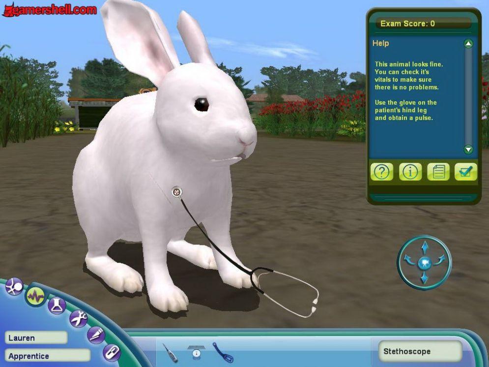 Screenshot ze hry Farm Vet - Recenze-her.cz