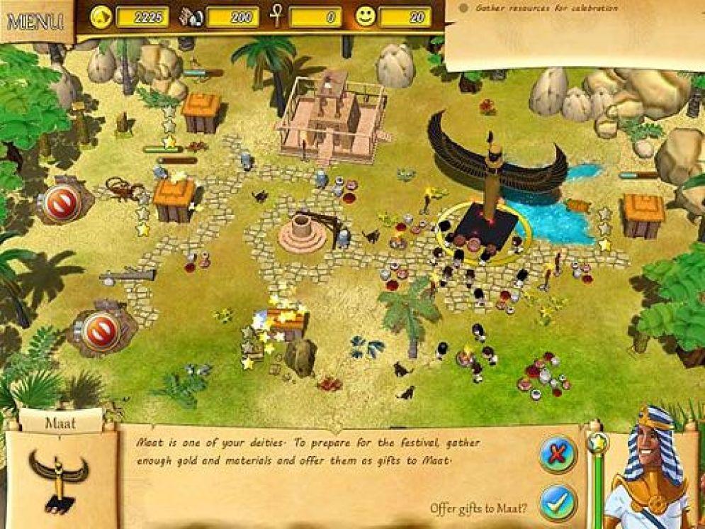 Screenshot ze hry Fate of Pharaoh - Recenze-her.cz