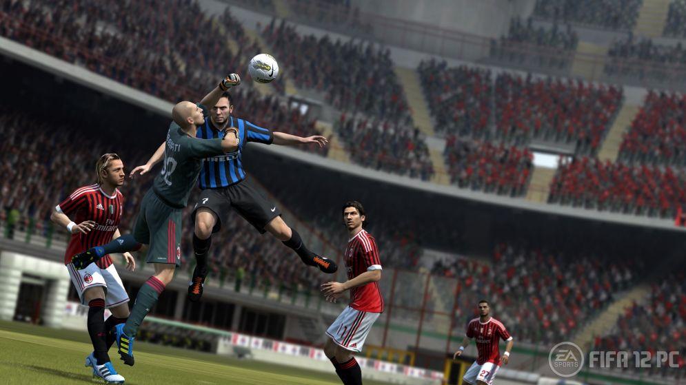 Screenshot ze hry FIFA 2012 - Recenze-her.cz