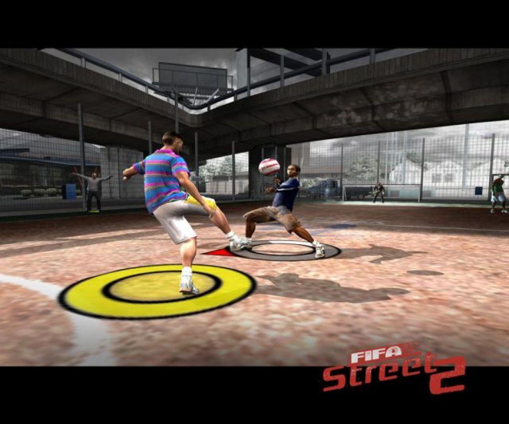 Screenshot ze hry FIFA Street 2 - Recenze-her.cz