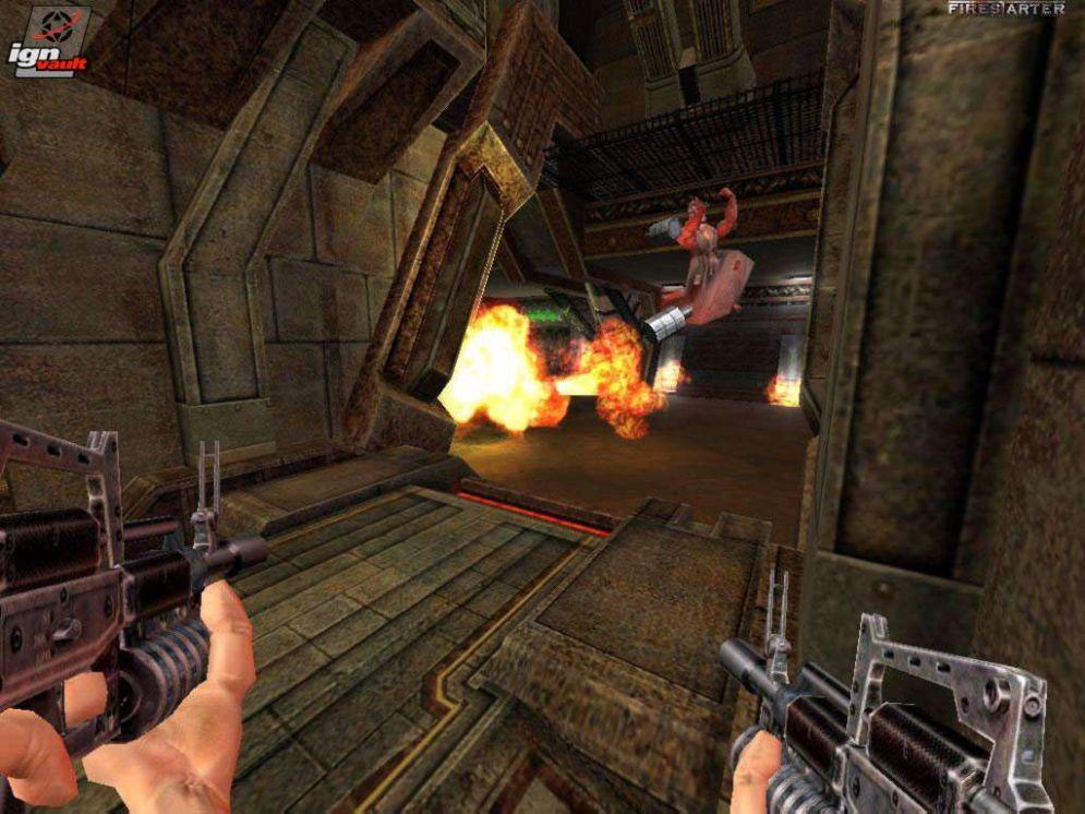 Screenshot ze hry FireStarter - Recenze-her.cz