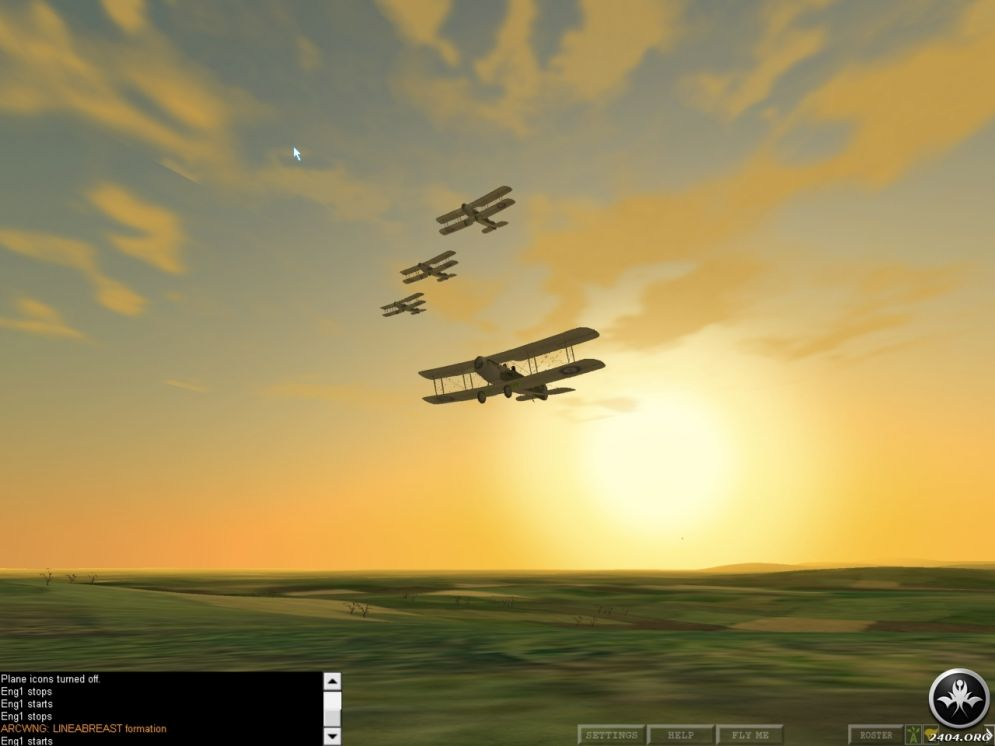 Screenshot ze hry Flyboys Squadron - Recenze-her.cz