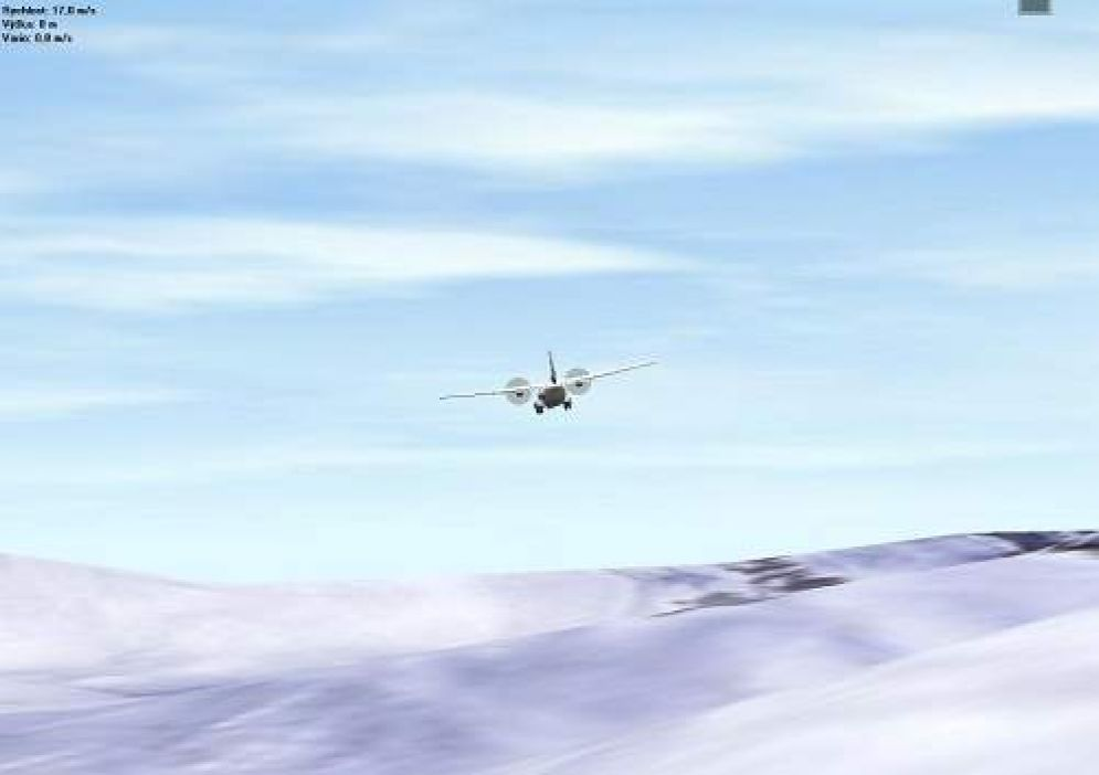 Screenshot ze hry Flying-Model-Simulator - Recenze-her.cz